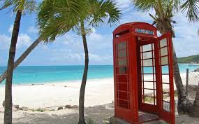 phonebooth at the beach
